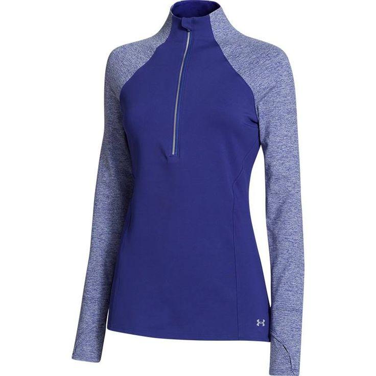 Under Armour Storm Heather 1/2 Zip | Meest hippe sportkleding voor vrouwen | SUZY DOES IT - SUZY DOES IT