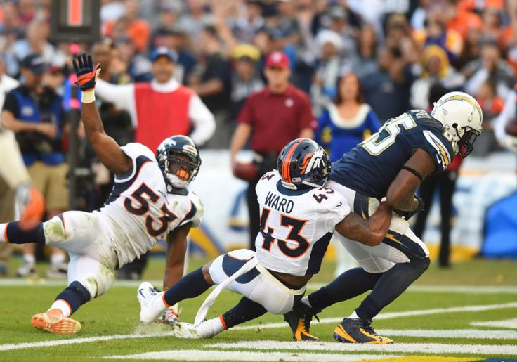 T.J. Ward, AFC's Player of the Week, embodies the Broncos' identity - T.J. Ward flew off the line, streaking toward a huge hole with a clear path to quarterback Teddy Bridgewater, and Broncos fans everywhere rose to their feet.....