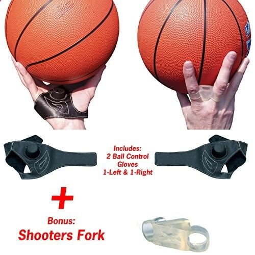 Unique Sports BasketBall Dribbling and Shooting Training Aid - Improves Ball Control and Shooting - Package Includes Right and Left hand aids and a Bonus Shooters Fork -- Read more @ www.myvacationdes...