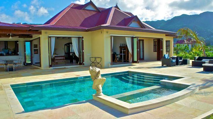 Holiday rent Sychelles villa 6 sleeps