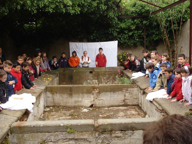 visita ai lavatoi di Montenero