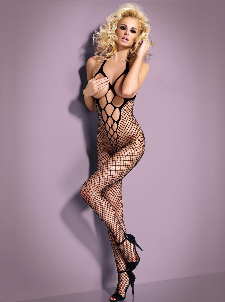 61,00 PLN | Bodystocking N106 Black - Obsessive #SexyLingerie #SL #bieliznaerotyczna #bielizna #bodystocking #seksowna #erotyczna #bieliznanocna #lingerie #eroticlingerie #sexy #erotic #sexygirls #sexywomen #black #Obsessive | Bodystocking w sklepie z bielizną erotyczną SexyLingerie.pl |
