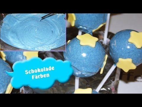 Schokolade Färben/Weiße Schokolade Einfärben/Wilton Gel Farbe