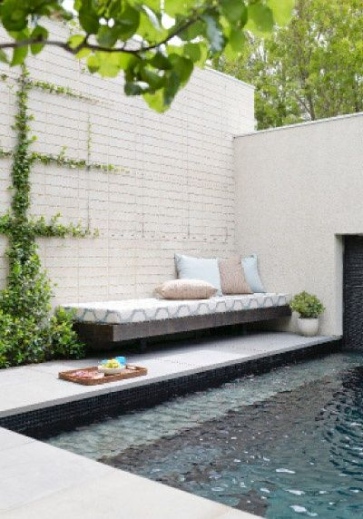 Swimming Pool Ideas as seen in Home Beautiful (AUS) | Styling by Wendy Bannister | Photography by De
