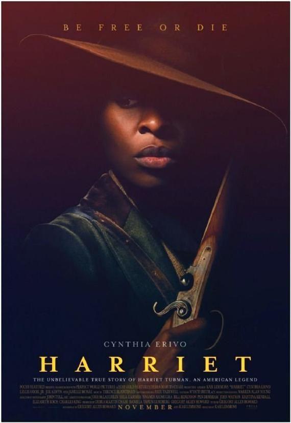 Harriet 2019 Original 27x40 Movie Poster Cynthia Erivo Is