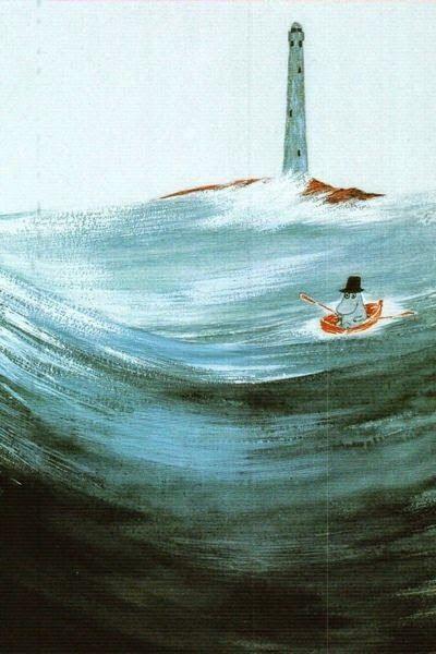 Moomins at sea