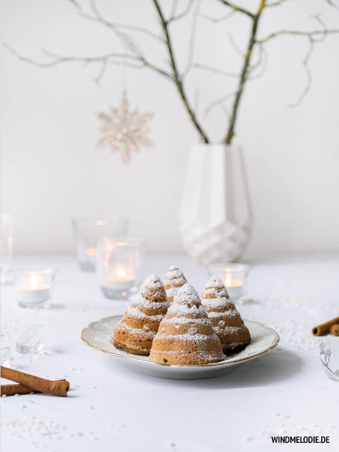 christmas spice fir tree muffins