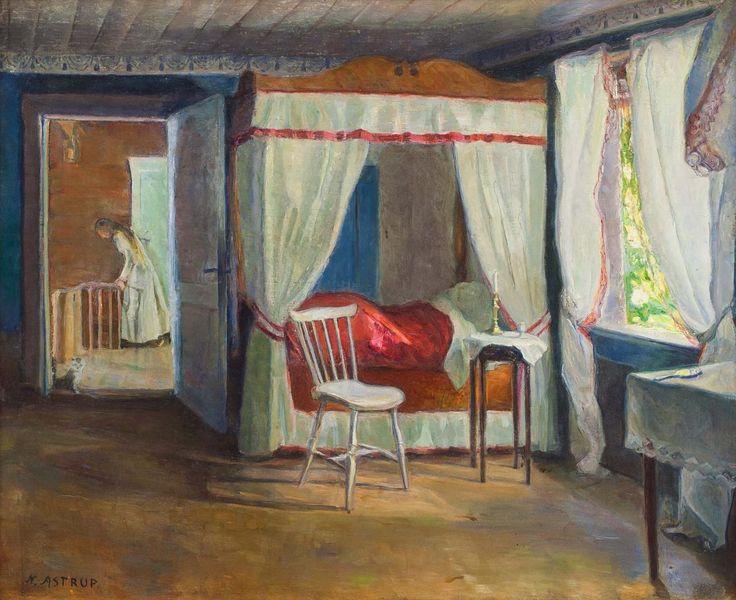 Interior, Jølster Vicarage | Nikolai Astrup