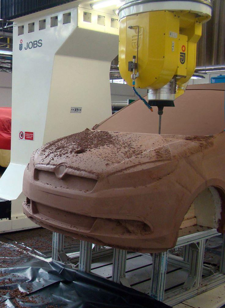 Fiat Siena - Clay model milling