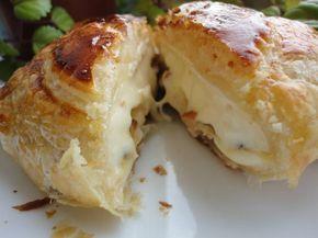 Hojaldre de camembert relleno