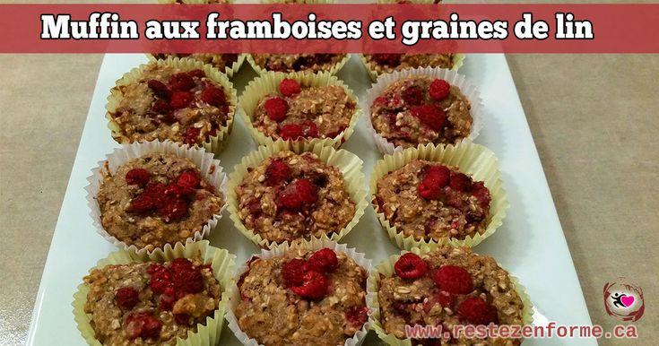 Muffin aux framboises et graines de lin - Rester en forme avec Sandra - Beachbody francais