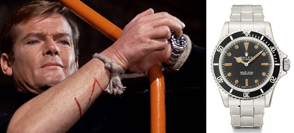 Live And Let Die (1973) – Rolex Submariner - Roger Moore