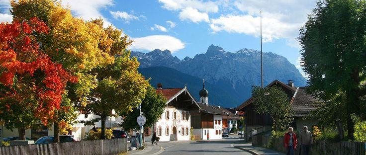 Krün - Urlaubsort in Bayern mit Zimmer und Ferienwohnungen