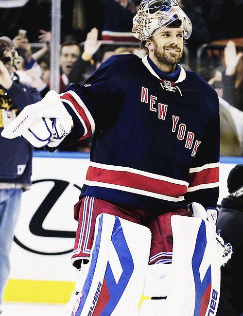 Henrik Lundqvist - New York Rangers