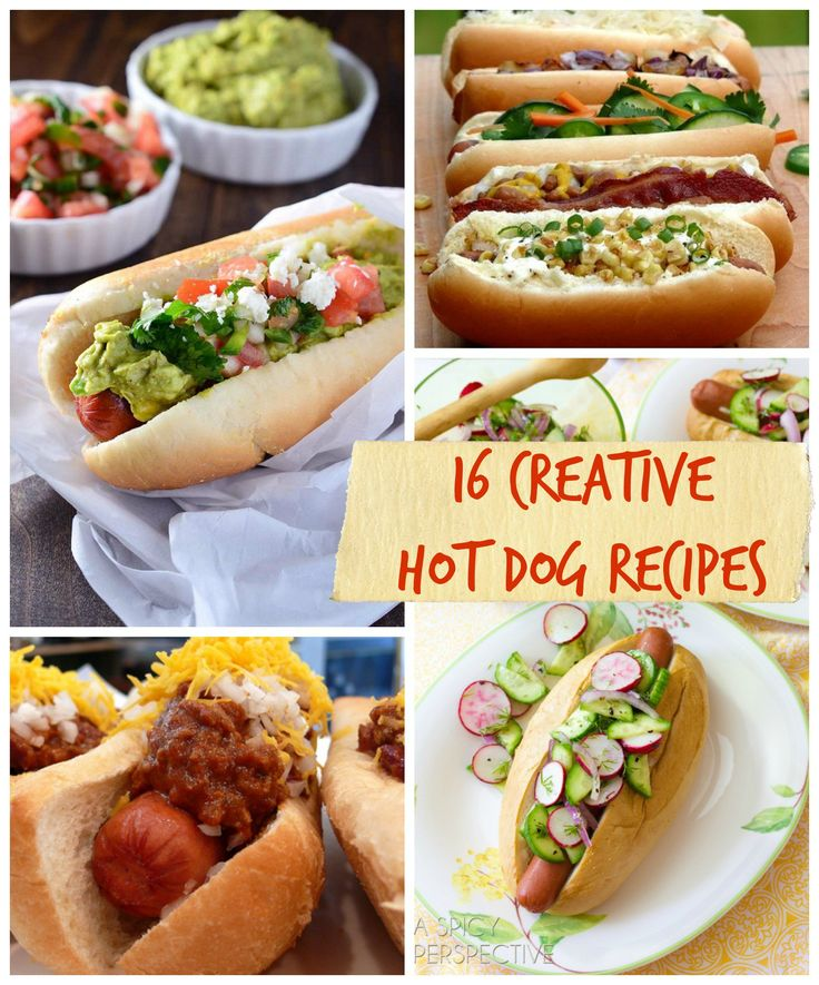 16 Creative Hot Dog Recipes