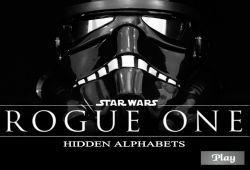 Te atreves a desvelar dónde están las letras escondidas de Rogue One de Star Wars. Busca y encuentra todas las letras ocultas que se camuflan entre las imágenes de la nueva pelicula de Star Wars, como es Rogue One. Te aseguro que no lo tendrás nada fácil, pero puedes usar la lupa para encontrar las letras más rápido.