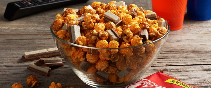 KIT KAT Chicago ReMix Recipes, shmecipes. Just put tasty things in a bowl and then eat it.