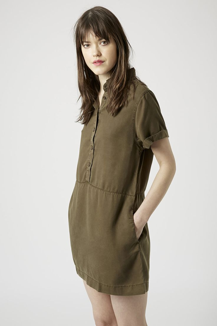 Photo 3 of PETITE Exclusive Casual Shirt Dress