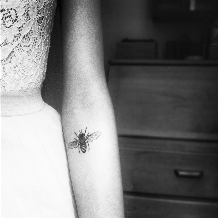 bee tattoo: inspired by thesecretlifeofbees