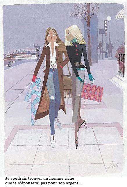 Les Parisiennes de Kiraz...elles sont désinvoltes, libres, coquines et indémodables...j'adore!