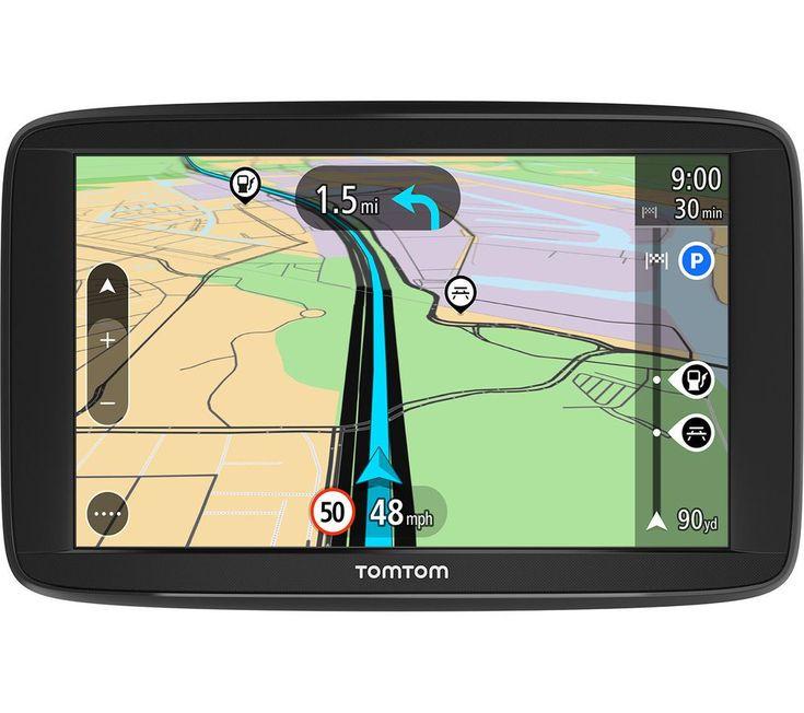 Tomtom Start 62 6 Sat Nav With Uk Roi Full Europe Maps With Images Sat Nav Gps