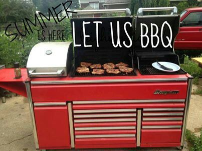 "The grill that screams, ""Let's Get To Work!"" Awesome!"