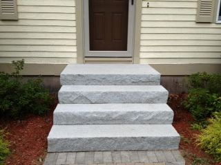 Are Concrete Footings Necessary When Installing Granite Steps? See these tips on How to Install a Concrete Slab for Supporting Granite Steps