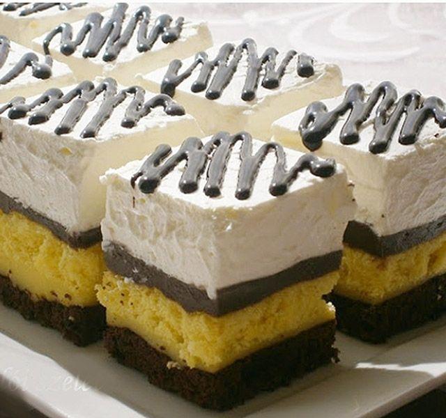 Aki a klasszikus somlói galuskát szereti, ezt a sütit is imádni fogja.