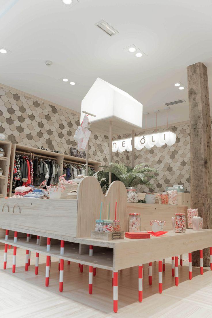Dise o interior para tienda de ropa infantil neroli by - Diseno ropa infantil ...