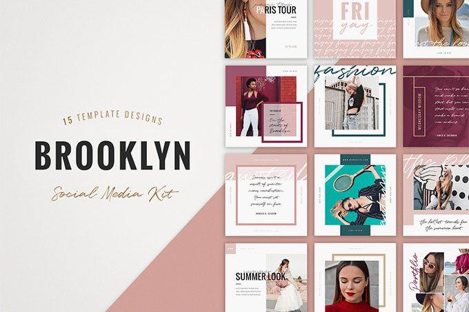 60 Premium Free Psd Instagram Fashion Templates To Be Stylish Free Psd Templates Instagram Template Free Instagram Template Design Instagram Template