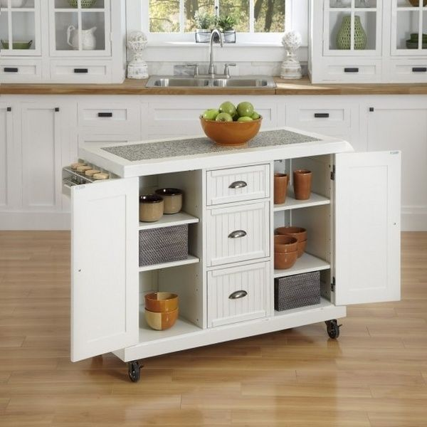 Pantry Storage Designs Portable Kitchen Island