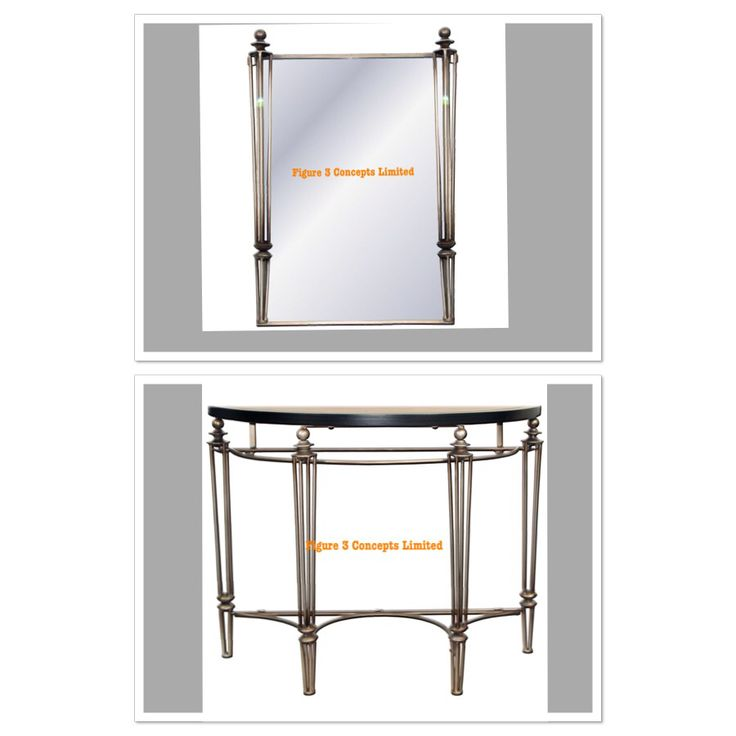 Mirror/Console set For price details: whatsapp 08034040846  Website: www.figure3concepts.com