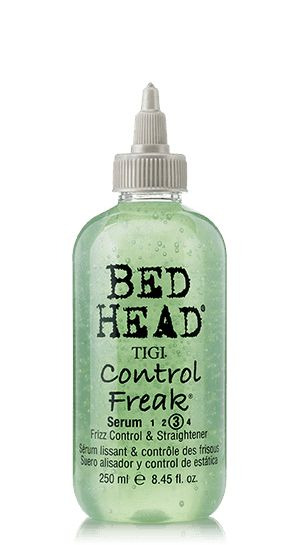 I used to use this. Works good. I like the smell too. Bed Head by TIGI | Products | Styling | Smooth Frizz Control | Control Freak Serum