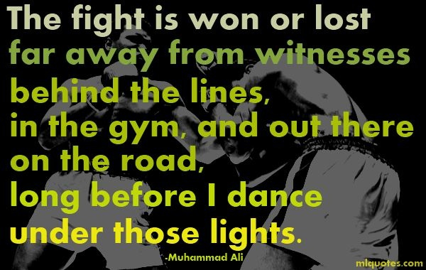 Quotes Muhammad Ali Before Fights