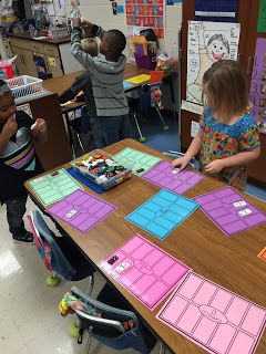 Math Tubs in Kindergarten: Math Tubs 2nd rotation and Learning Stations 2