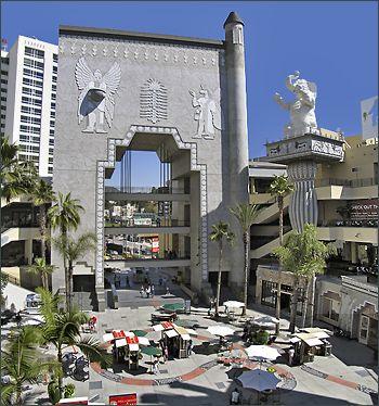 Hollywood & Highland, Vine. Chinese Graumann Theatre, Walk of Fame, Sunset Blvd