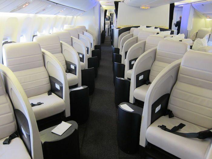 Air New Zealand 777-300ER Business Class.