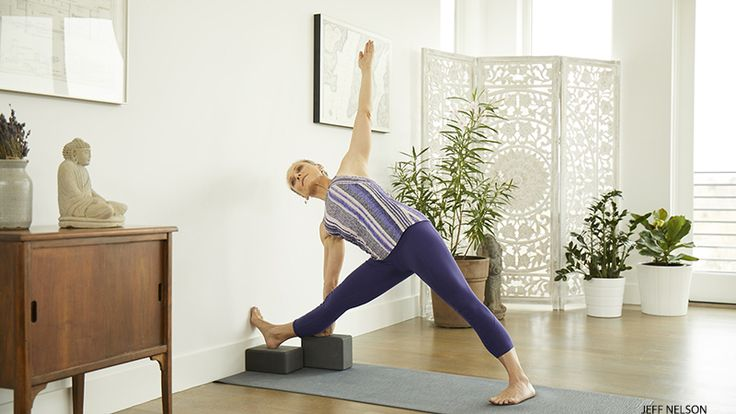 These three fun variations of Utthita Trikonasana (Triangle) are only a sample of the seemingly infinite number of ways to practice and play with this pose.