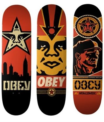 Shepard Fairey Deck designs