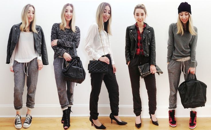 Sweatpants 101: 5 Ways to Wear Fall's Comfiest Trend and Still Look Chic