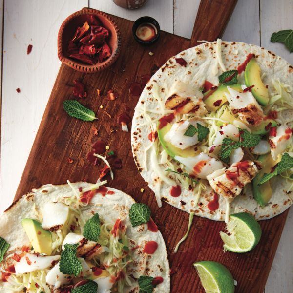 These mojito fish tacos are sure to please the Instagram obsessed foodie at your next barbecue. Get the fish tacos recipe at Chatelaine.com.