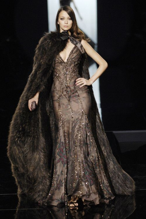 """game-of-style: """"Alayne Stone - Elie Saab Haute Couture fall 2005 """""""