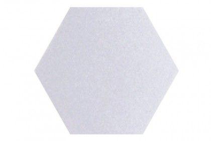 Souk White Hexagon Tiles 15x15cm
