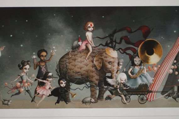 Hey, I found this really awesome Etsy listing at https://www.etsy.com/il-en/listing/120046060/the-carnival-large-limited-edition