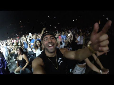 FRONT ROW AT WILD J. COLE + BIG SEAN CONCERT!! - YouTube