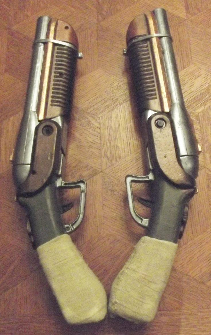 Deadwood Twins Sawed-off Shotguns