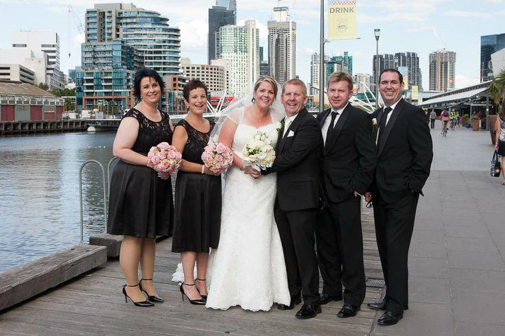 Kate and Benji's Wedding, South Wharf- Melbourne