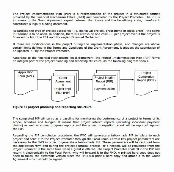 Project Implementation Plan Template In 2020 How To Plan