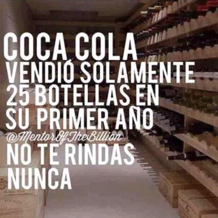NO TE RINDAS NUNCA !!!