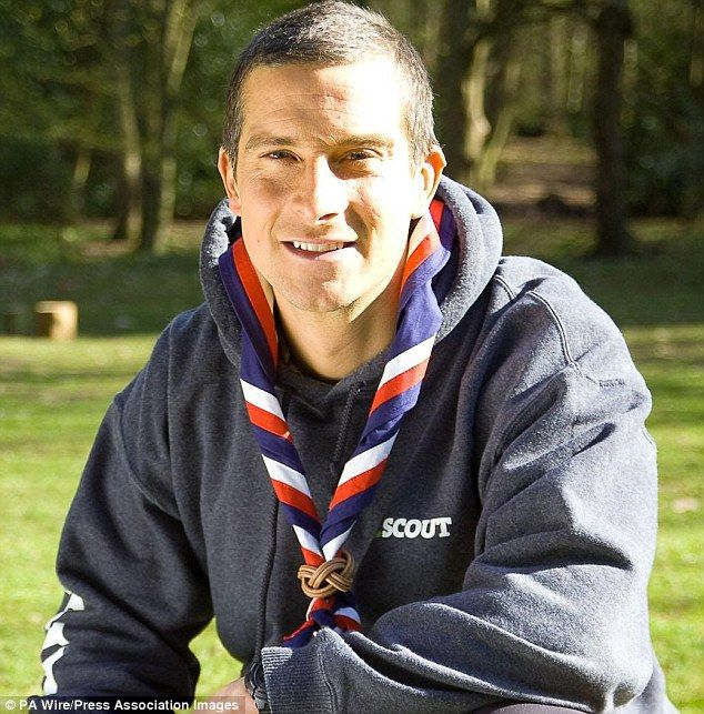 Bear Grylls, Chief Scout…